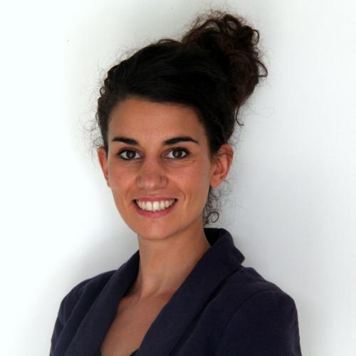 Ms. Ben Ali, co-founder of URBAN REFUGEES