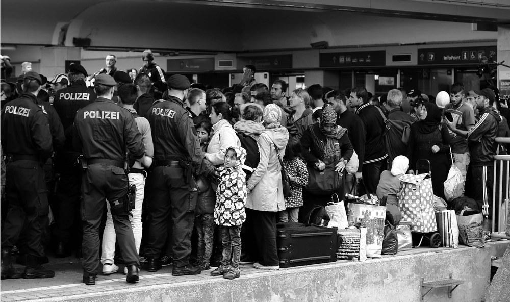 Urban refugees in Vienna.Josh Zakary