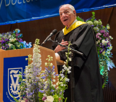 Above: Mr. Rose accepting an honorary degree from the Technion-Israel Institute (Source: Real Estate Weekly)