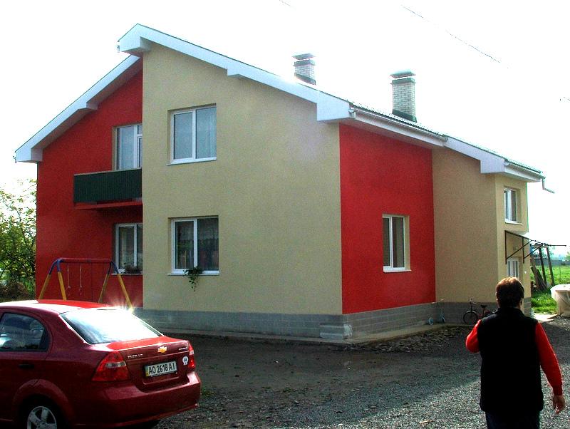 Foster home in the Carpathian region of Ukraine which CF-Ukraine co-financed.